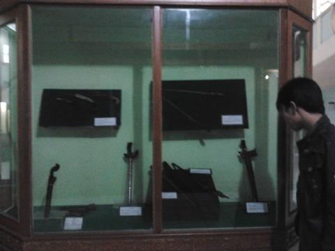 Koleksi Pusaka / Keris Peniggalan Sejarah RIAU.
